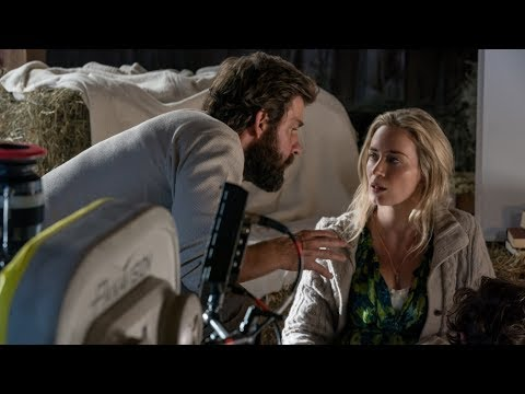 Behind The Scenes on A QUIET PLACE - Movie B-Roll, Bloopers & Clips