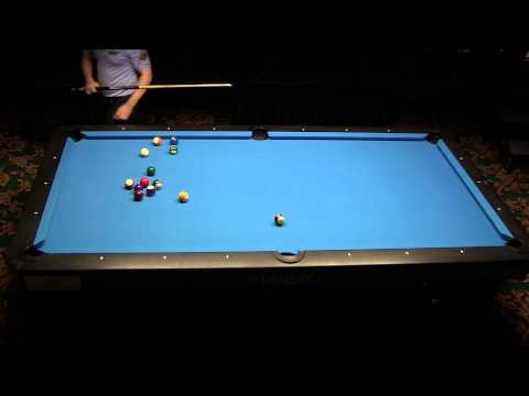 Mika Immonen 224 ball run in Straight Pool