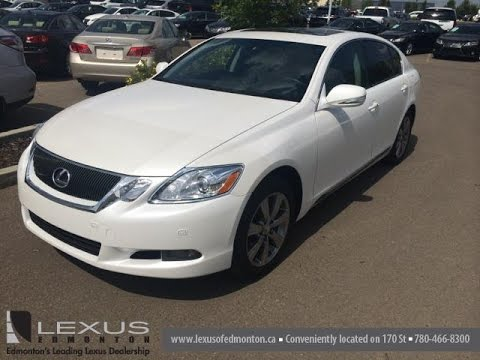 Pre Owned White 2010 Lexus Gs 350 4dr Sdn Awd Premium Package Review
