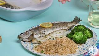 How to Make Baked Fresh Rainbow Trout | Dinner Recipes | Allrecipes.com