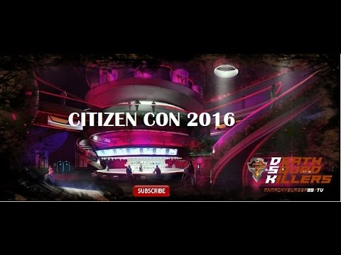 LIVE from Citizen Con 2016 broadcast by Anarchy Burger99 TV (unofficial)