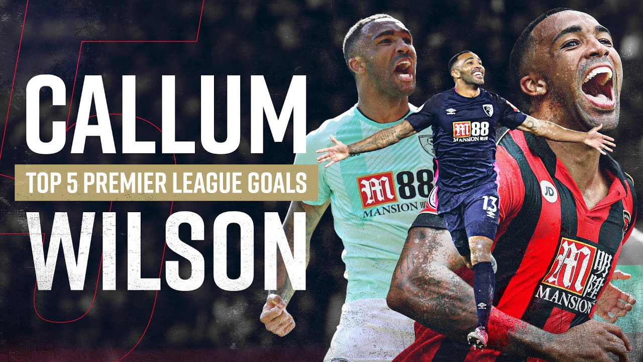 CALLUM WILSON'S TOP FIVE PREMIER LEAGUE GOALS 🔥🔥🔥