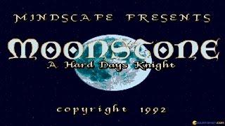 Moonstone gameplay (PC Game, 1991)