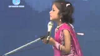 Repeat youtube video Bhagti main umar nahi dekhi jati..Nirankari Kid