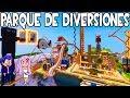 PARQUE DE DIVERSIONES (ATRACCIONES)|MINECRAFT|FUNLAND 3
