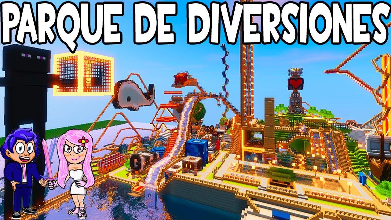 Parque de diversiones atracciones minecraft funland 3 for Blancana y mirote minecraft