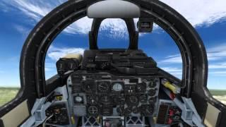 Review of Milviz F-100 Super Saber