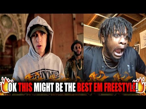 Eminem's Greatest Freestyle EVER!? | Eminem - Shady XV Cypher Freestyle (REACTION!)