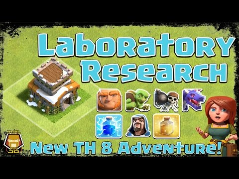 TH 8 Laboratory Research Order | First 15 Days Episode 2 | Clash Of Clans