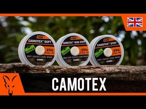 Dark Fox Edges Camotex Camo Braid Light Carp Fishing Soft Stiff