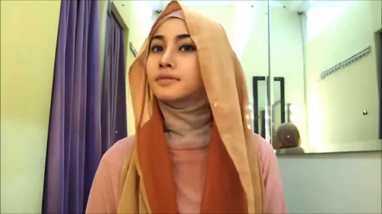 Hijab Tutorial Pashmina Sifon Hijab Tutorial Tuk Pesta Dan Acara