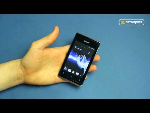 Видео обзор Sony Xperia E dual от Сотмаркета