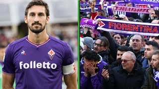 Fiorentina Fans Give Emotional Goodbye to Captain Davide Astori