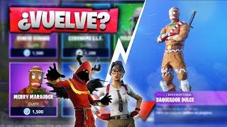 COOKIES RETURN! WAITING TO THE NEW STORE OF *FORTNITE* NEW SKINS!? | CABACS