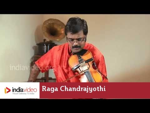 Raga Series - Raga Chandrajyothi on Violin by Jayadevan