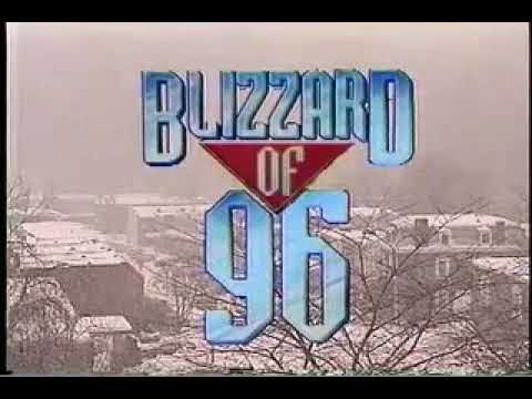 WJZ-TV Baltimore - 1996 - Blizzard of '96 5PM Open