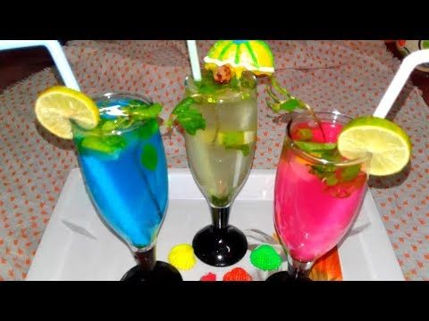 Goregeous Healthy Refreshing Summer Drinks in a 3 different way Lemon Juice Recipe