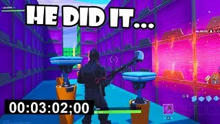 3:02 Official DEATHRUN WORLD RECORD! (10,000 *FREE VBUCKS* PRIZE)