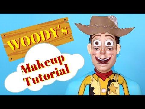 Disney Pixar's Toy Story Woody Makeup Tutorial