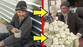 5 Obdachlose Menschen, die sehr reich sind!