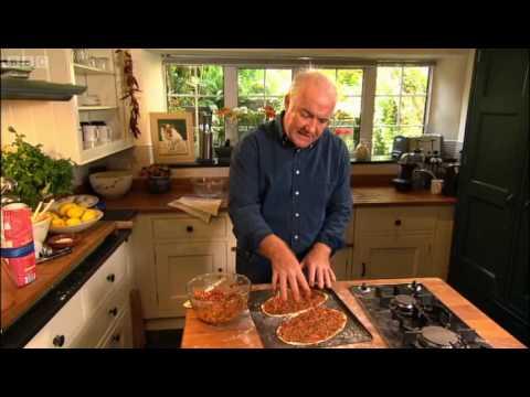 Turkish spicy lamb flat bread - Rick Stein - BBC