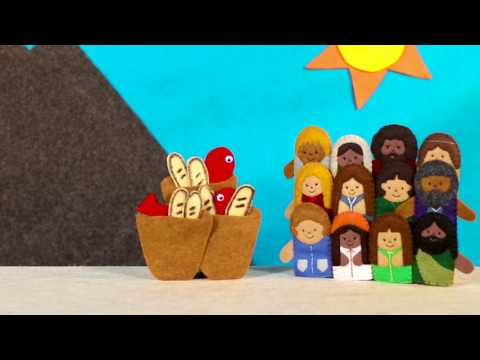 Twos: Jesus Feeds 5000 (Story)
