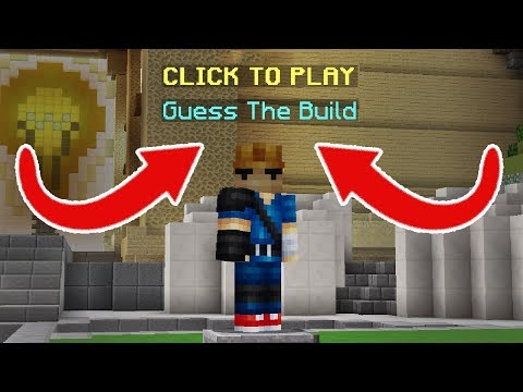 GUESS THE BUILD MODE CHALLENGE! (Minecraft Build Battle)