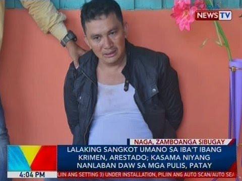 BP: Lalaking sangkot umano sa iba't ibang krimen, arestado sa Naga, Zamboanga Sibugay