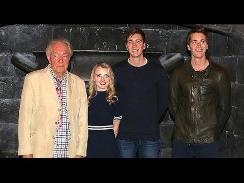 Harry Potter stars Q&A at Universal Orlando - Dumbledore, Weasley twins, Luna Lovegood