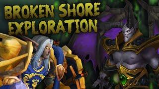 Parkour Exploration & PvE on the Broken Shore (Part 3) - Swifty Plays WoW Legion Beta