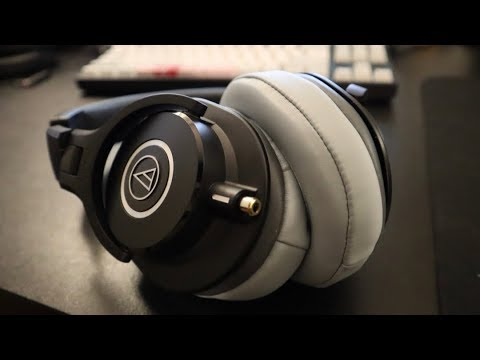 Modded ATH-M40X (or M50X) Review - Fixing The Cable, Sound, & Comfort