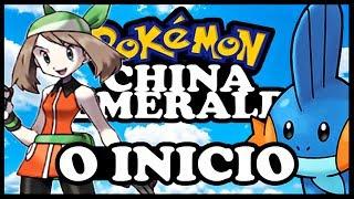 POKEMON CHINA EMERALD HACK ROM GBA DETONADO EP 1 - O INICIO