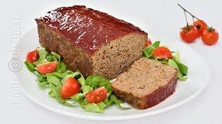 Meatloaf / Drob din carne tocata | JamilaCuisine