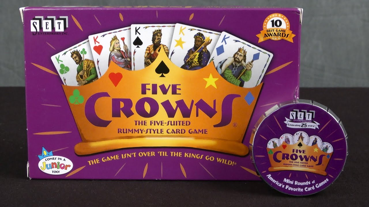 5 crowns card game online