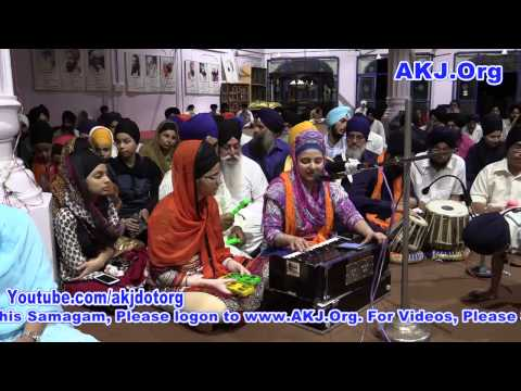 015 G Nanak Jhira Bidar 5 6July2015 SunEve RS Bibi Ranjeet Kaur Jee Ludhiana
