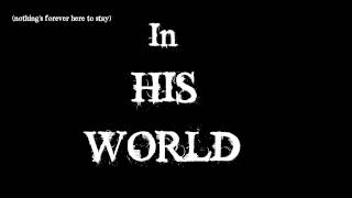 His World (kinetic Typography)- Matty Lewis & Ali Tabatabaee