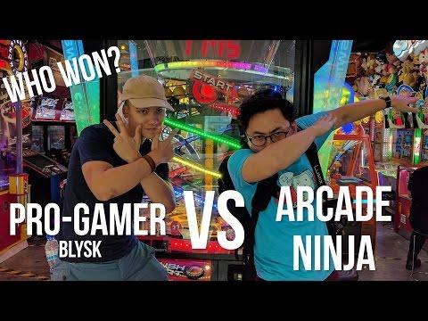 Can I beat a Pro-Gamer? (Blysk) | Arcade Ninja
