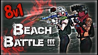 GTA 5 Online - 8v1 Leads to a Sweaty Beach Battle w/xMissBehave || Stop Lying About Scores!