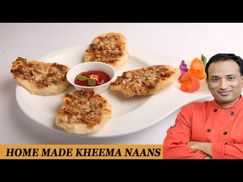 Home Made Stuffed Keema Naans Recipe with Philips Air Fryer by Vahchef