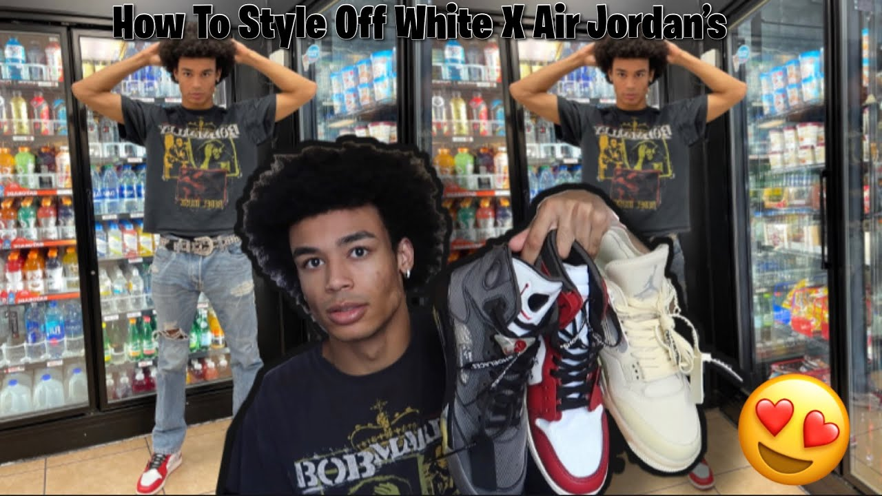 HOW TO STYLE OFF WHITE X AIR JORDANS (Outfit Ideas)