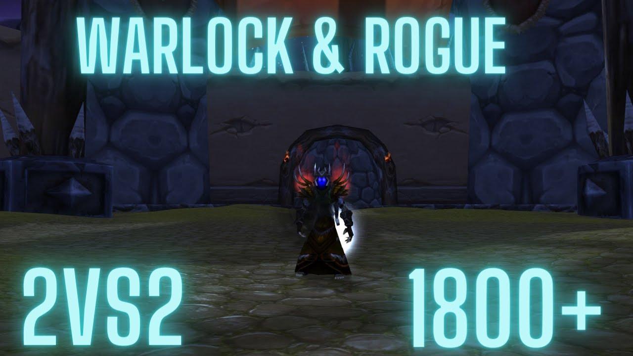 Warlock TBC classic Arena 2vs2 1800+ PvP Saison 1