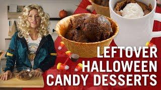 Edible Brownie Batter & Mug Blondies | Leftover Halloween Candy | Flavor Makers Series | McCormick