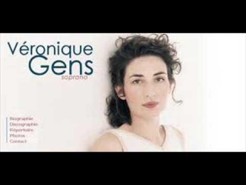 """Véronique Gens, """"Claire de Lune,"""" op. 46, No. 2, Paul Verlaine"""