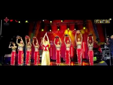 SHIAMAK LONDON team for Diwali Celebrations 2015 at Trafalgar Square