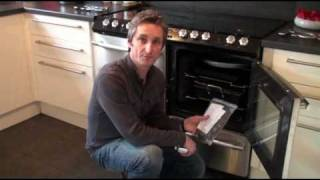 How to replace and fit an oven door seal