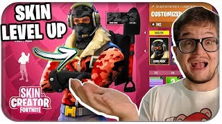 😲 CHARACTER SKIN MAKER UND LEVEL UP SYSTEM | Fortnite Concept Deutsch German