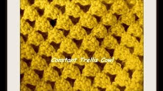 Constant Trellis Cowl Stitch Walkthrough