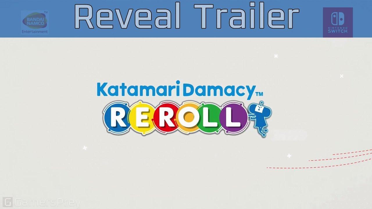 Katamari Damacy Reroll - Nintendo Switch Reveal Trailer [HD 1080P]