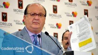 Denuncian irregularidades del Gobernador de Morelos Graco Ramírez