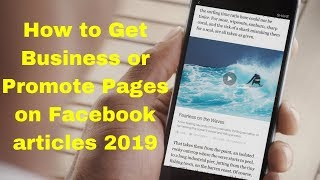 How to Get Business or Promote Pages on Facebook articles 2019
